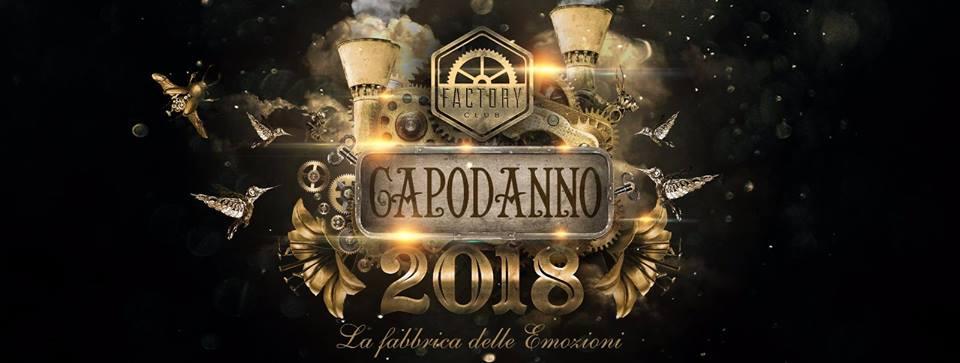 Capodanno Factory Club Roma 2018